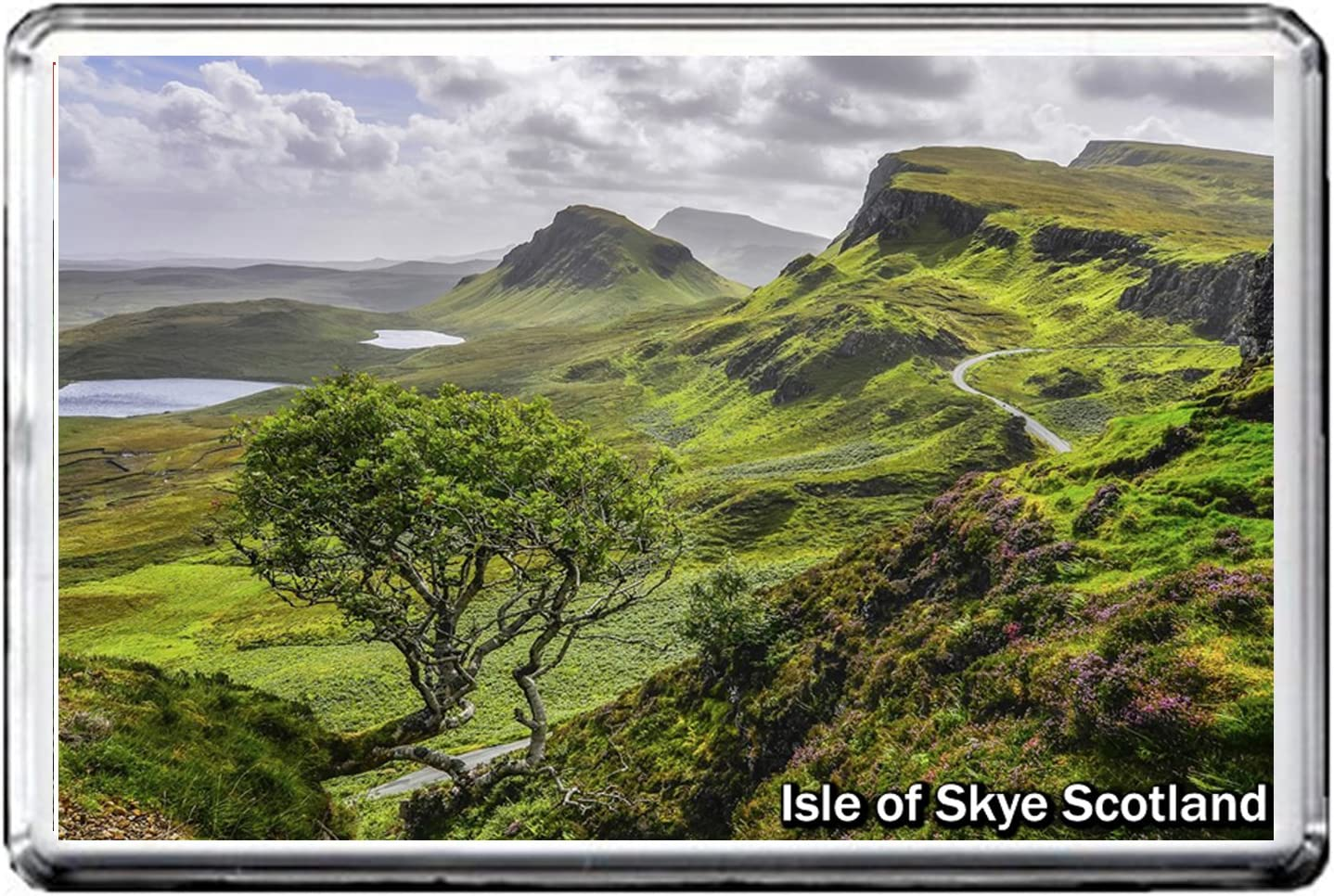 0257 ISLE of Skye Scotland Jumbo Photo Refrigerator Magnet Fridge Magnet United Kingdom Landmarks United Kingdom Attractions