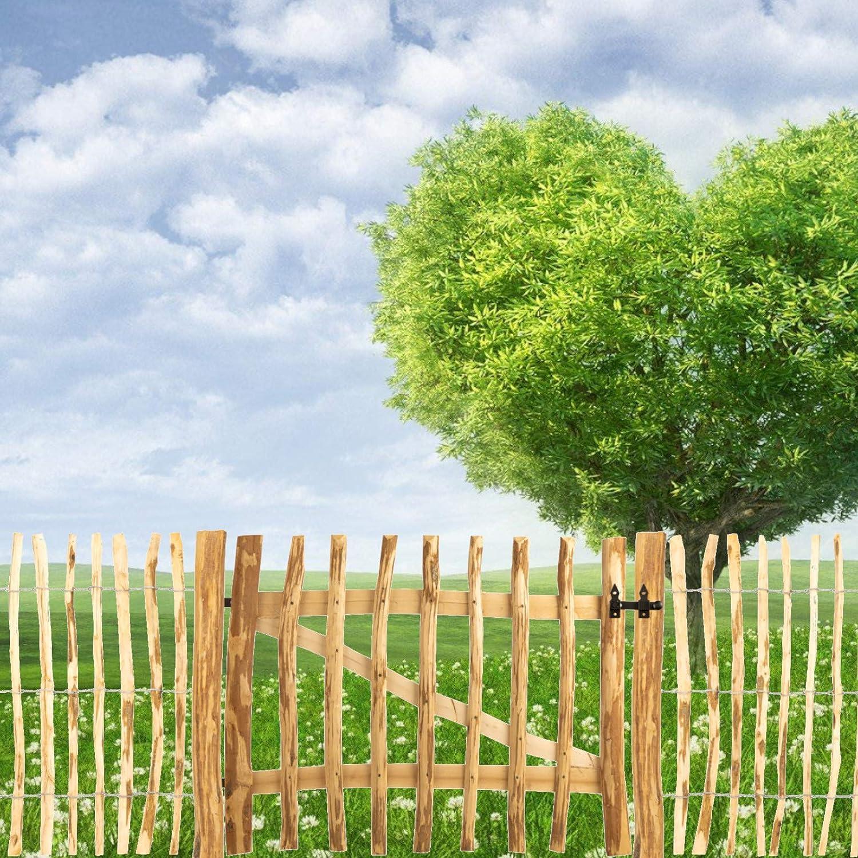 beige construcci/ón muchos tama/ños Valla de postes de avellano BOOGARDI casta/ño para cercas de estacas