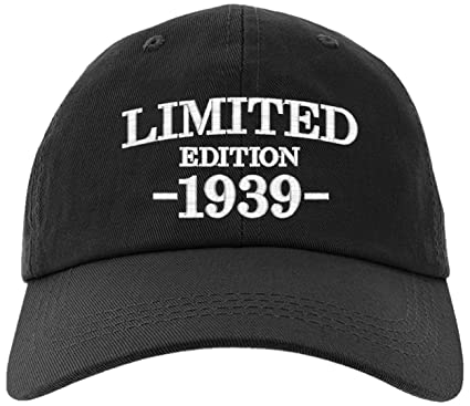 Cap 1939-80th Birthday Gifts, Limited Edition 1939 All Original Parts Baseball Hat 1939