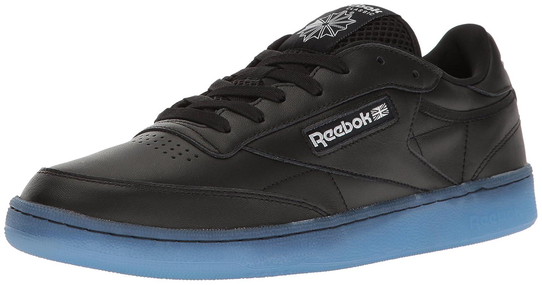 Reebok Men's Club C 85 Ice Fashion Sneaker B01GRKMSNI 10.5 D(M) US|Black/White-ice