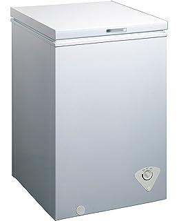 midea whs129c1 single door chest freezer 35 cubic feet white - Upright Deep Freezer