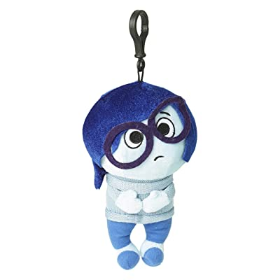 "Zoofy International Inside Out-Sadness 8"" Plush Zippered Clip Doll: Toys & Games"
