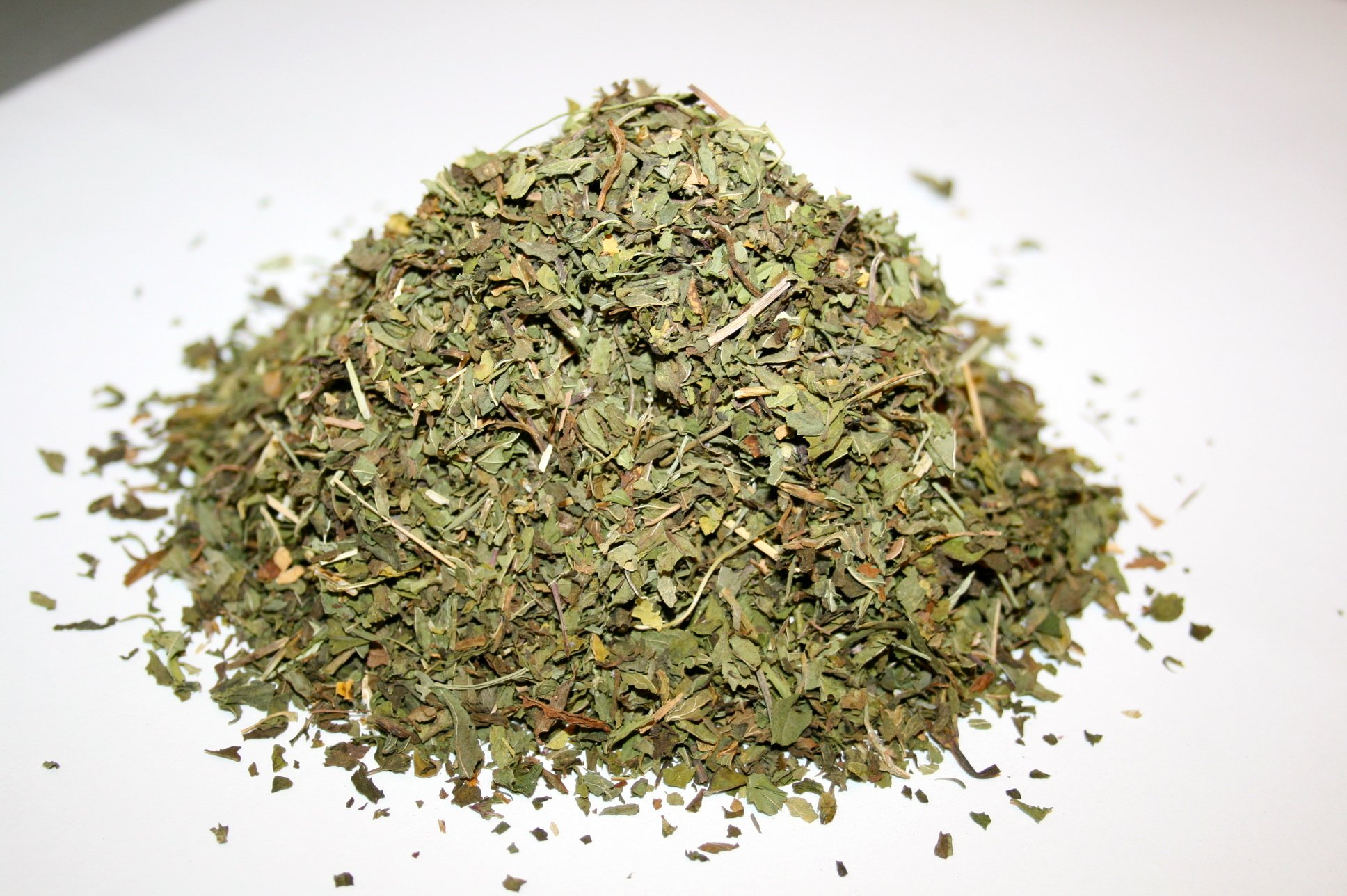 Organic Bio Herbs-Organic Dried Peppermint Leaves Cut (Mentha Piperita) 4 Oz.