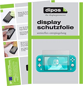 dipos I 2X Protector de Pantalla Mate Compatible con Nintendo ...
