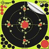 Splatterburst Targets -12 inch Stick & Splatter Self Adhesive Shooting Targets - Gun - Rifle - Pistol - Airsoft - BB Gun…