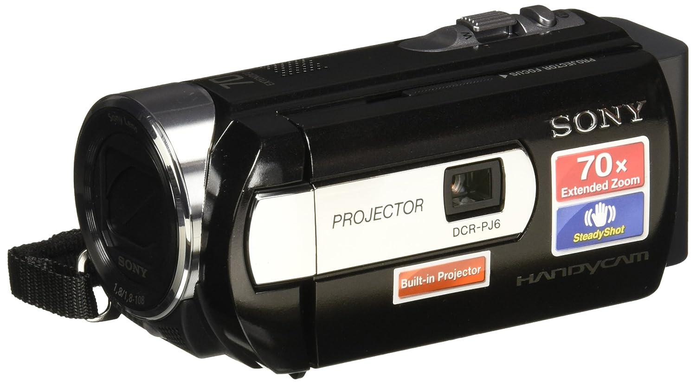 Sony DCR-PJ6B - Videocámara (CCD, 25,4/8 mm (1/8