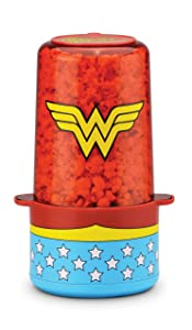 DC DCW-60 Wonder Woman Popcorn Popper, One Size, Blue/Red/Yellow