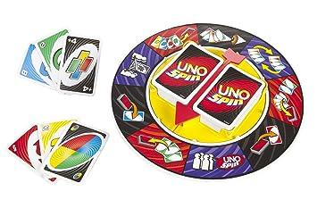Mattel Games K2782 Uno Spin - Juego de cartas (en italiano ...