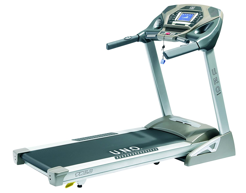 UNO Fitness Adultos TR 3.0 Cinta de Correr, Plata Gris, S: Amazon ...