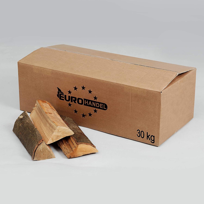 30kg Brennholz Buche Kaminholz ofenfertig (bis 33 cm) Krok Wood Ltd.