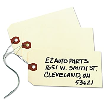 Amazon.com : Avery Shipping Tags, Paper/Double Wire, 5.25 x 2.625 ...