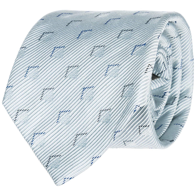 Emporio Armani corbata de hombre nuevo blanco: Amazon.es: Ropa y ...