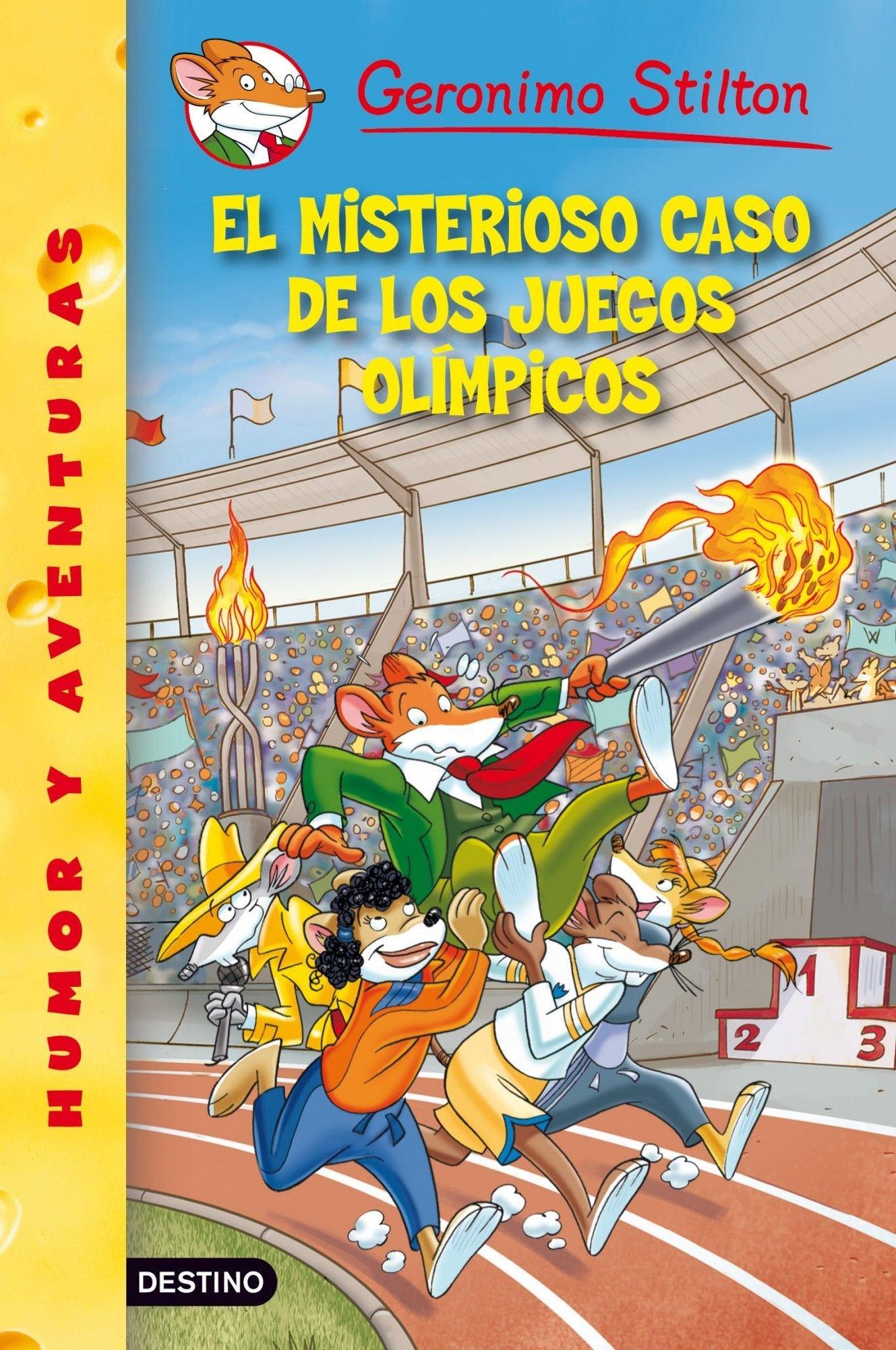 El misterioso caso de los Juegos Olímpicos: Geronimo Stilton 47: Amazon.es: Stilton, Geronimo, Martí i Viudes, Manel: Libros