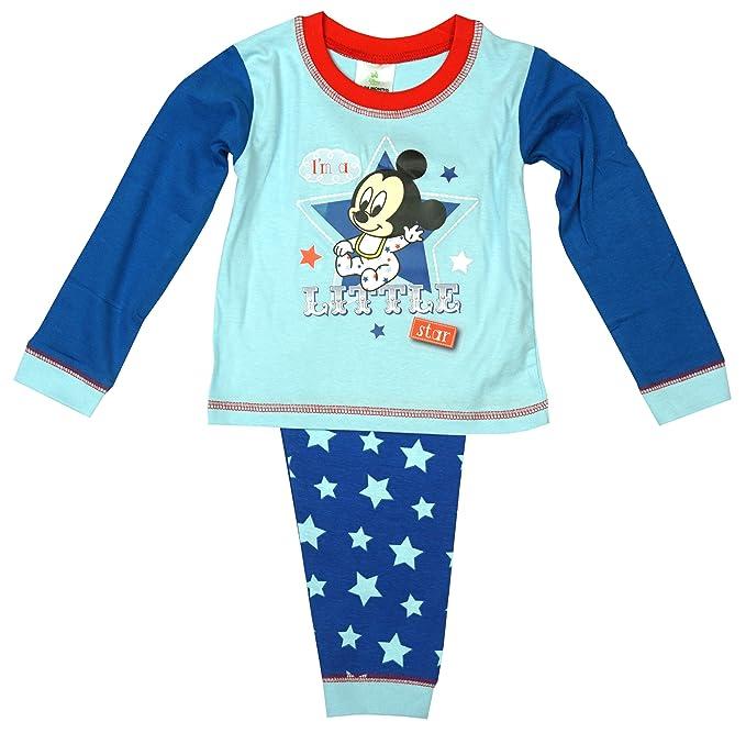De niño Bebé Niño Pequeño Disney Mickey Mouse Im a Little Star Pijama rallas desde 6
