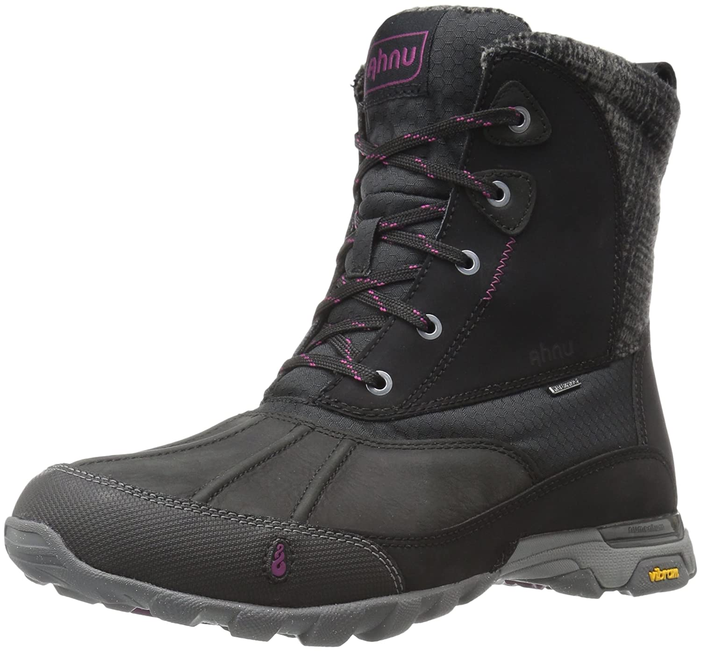Ahnu Women's Sugar Peak Insulated Waterproof Hiking Boot B018VMLRKA 6 B(M) US|Black