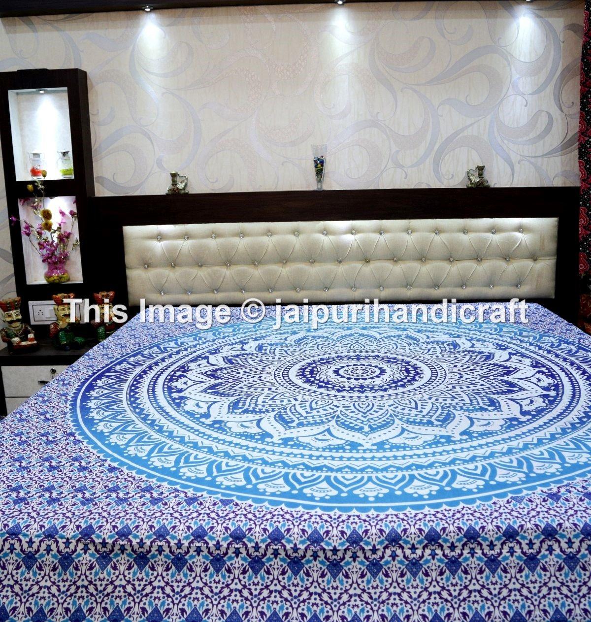 Amazoncom Hippie Mandala Tapestry Hippie Tapestries Mandala