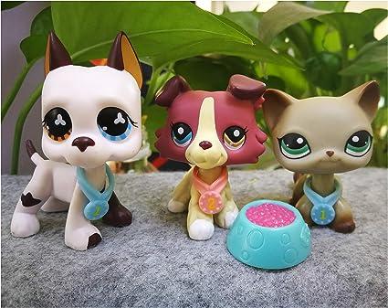 6pcs Lpsloverqa Lps Ice Cream Collie Short Hair Cat Lps Accessories Rarely Littlest Pet Shop