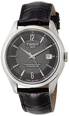 d4e5bd1a726 Tissot T-Classic Ballade Automatic Black Dial Mens Watch T108.408.16.057.00