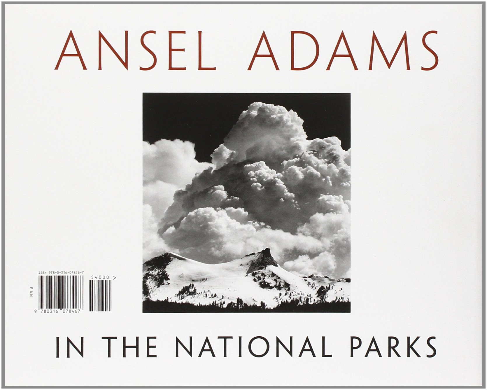 Amazon Ansel Adams in the National Parks graphs from
