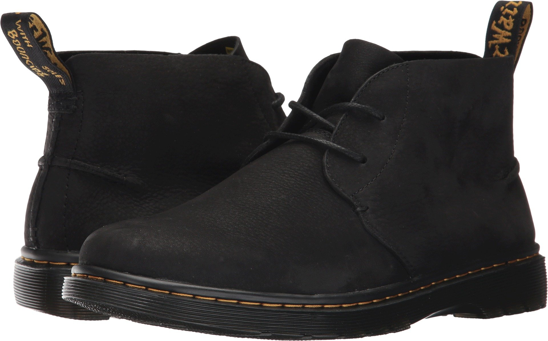 Dr. Martens Men's Ember Chelsea Boot, Black Slippery Wp, 7 Medium UK (8 US) by Dr. Martens