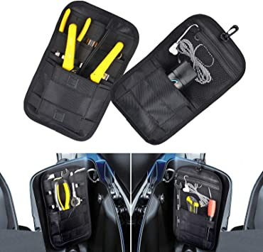 Motorcycle Internal Saddle Bags A pair of storage bags and tool bags,Balck