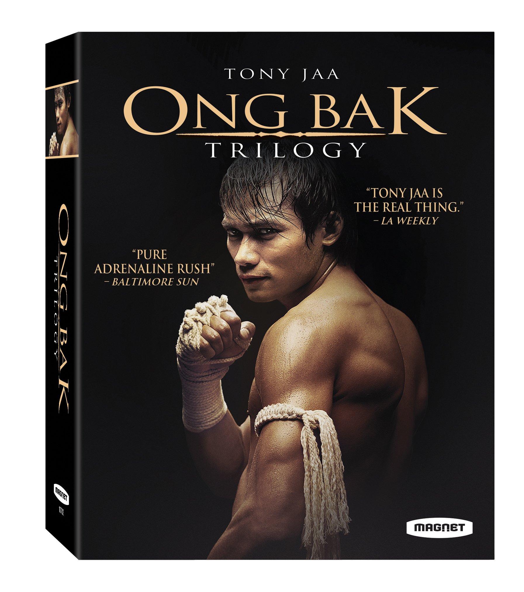 Blu-ray : Ong Bak Trilogy (Widescreen, AC-3, 3 Pack, 3 Disc)