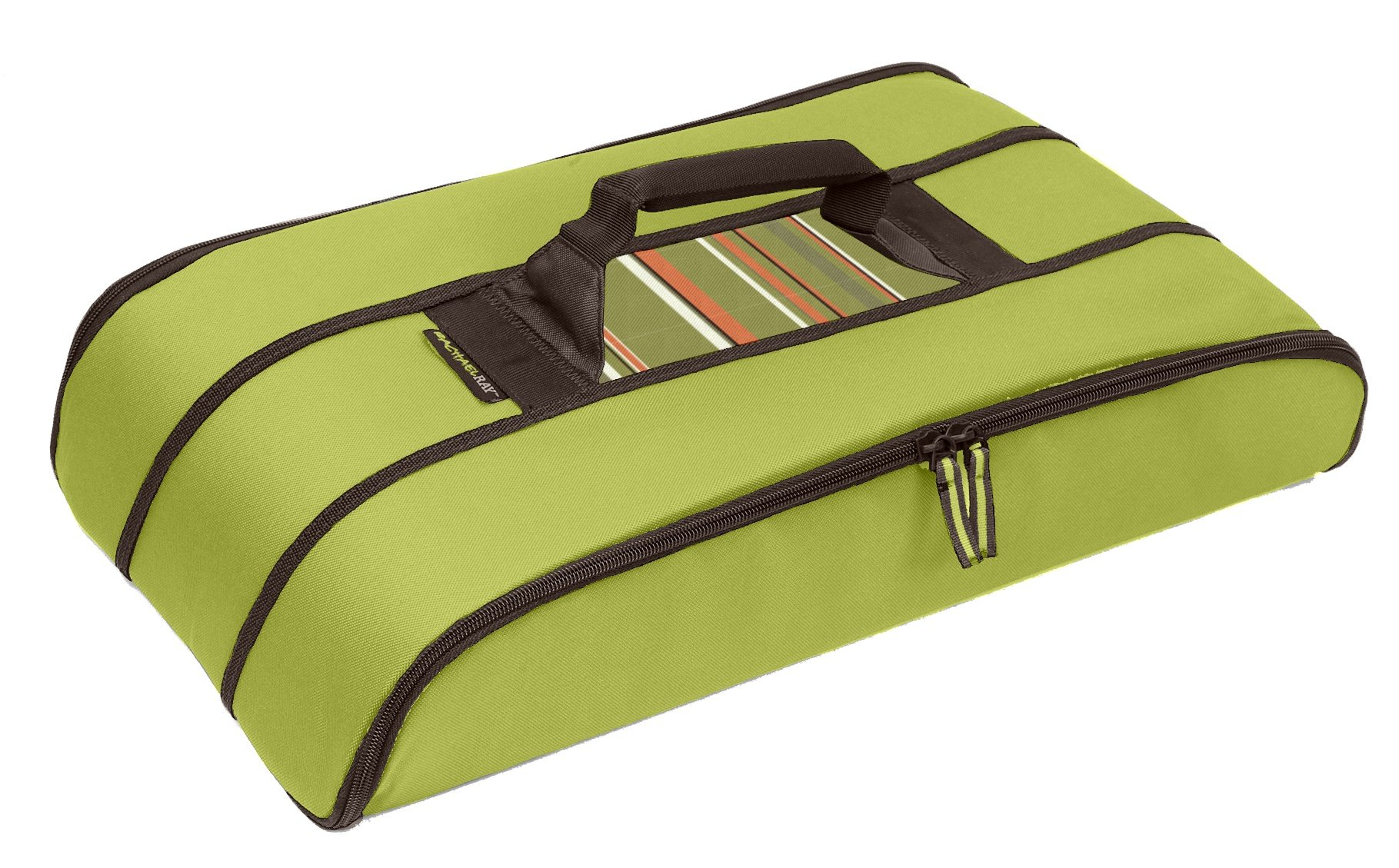 Rachael Ray Stowaway Potlucker, Holds Larger Casseroles / Baking Dishes Up To 10 X 15 Inches, Green