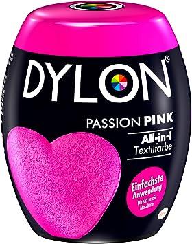 Tinte de DYLON. Color: Rosa pasión, pack de una unidad de 350 g