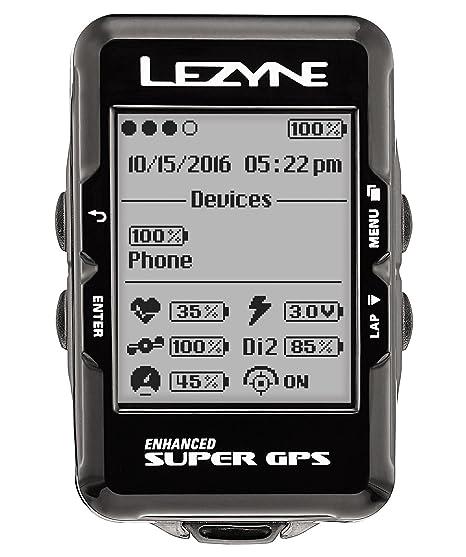 Lezyne Super GPS con Banda PULSOMETRO: Amazon.es: Coche y moto