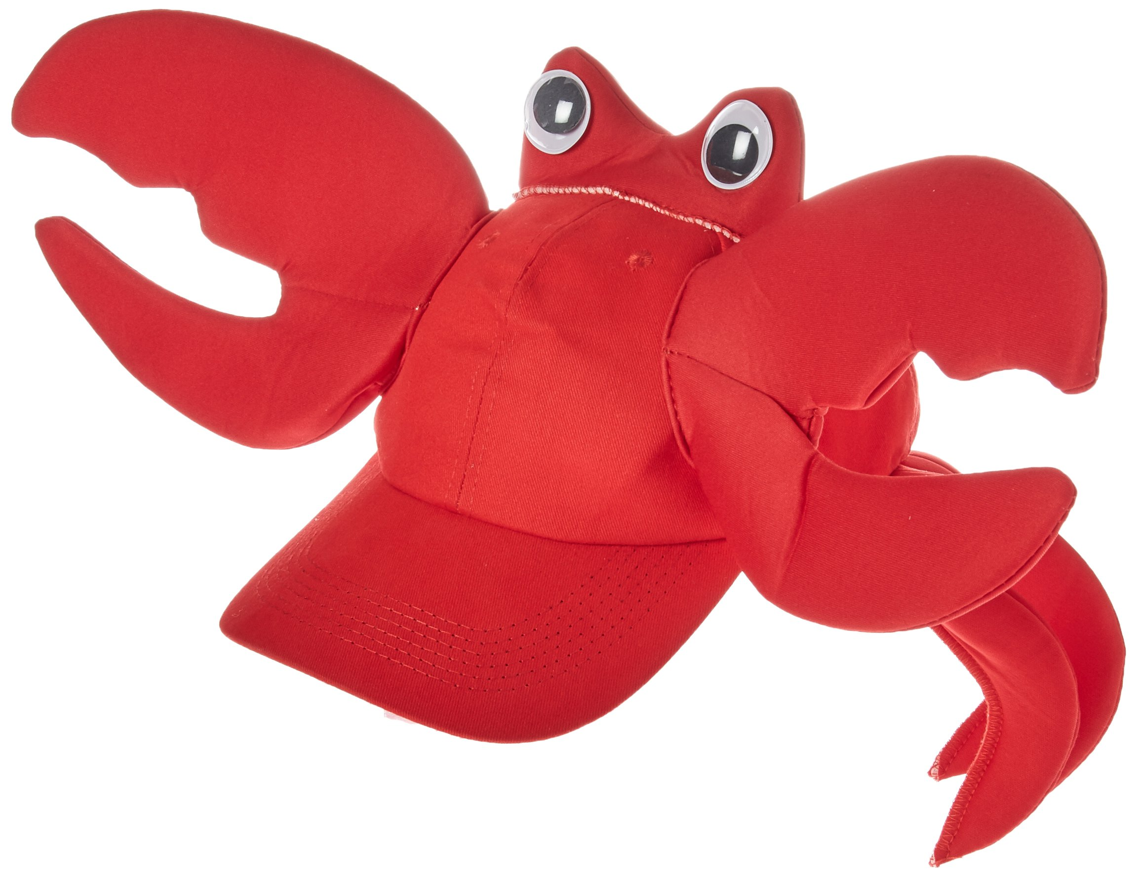 Rasta Imposta Crab Cap, Red, One Size