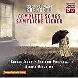 Korngold:Complete Songs [Konrad Jarnot; Adrianne Pieczonka; Reinild Mees] [CAPRICCIO: C5252]