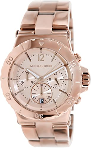 40a70e8b06d1 Michael Kors Mk5314 Ladies Watch with Rose Gold Bracelet and Rose Gold  Dial  Michael Kors  Amazon.co.uk  Watches