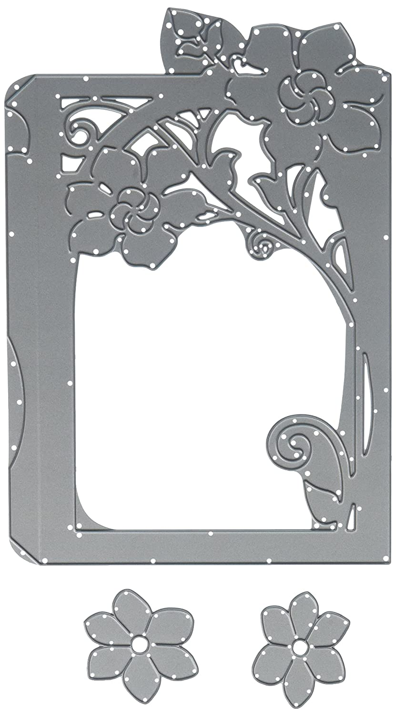 Sizzix 661880 Fustella Thinlits 3 Pezzi Lanterna di David Tutera, Metal,, 21.1x13.2x0.4 cm Ellison