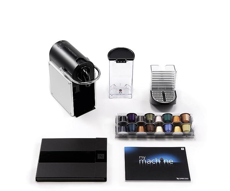 Krups XN 301T Machine à café Nespresso Pixie avec Aeroccino³ (Gris ...