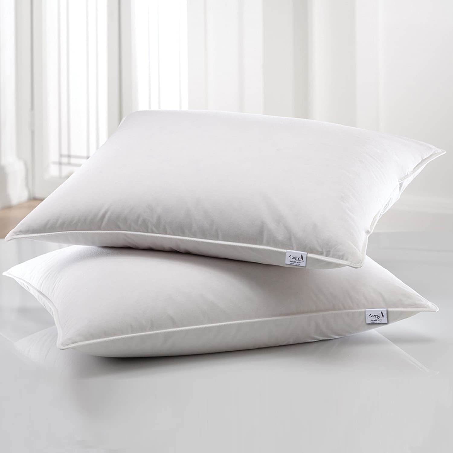 white fine cp european koltes scripts nancy accent pillows down pillow