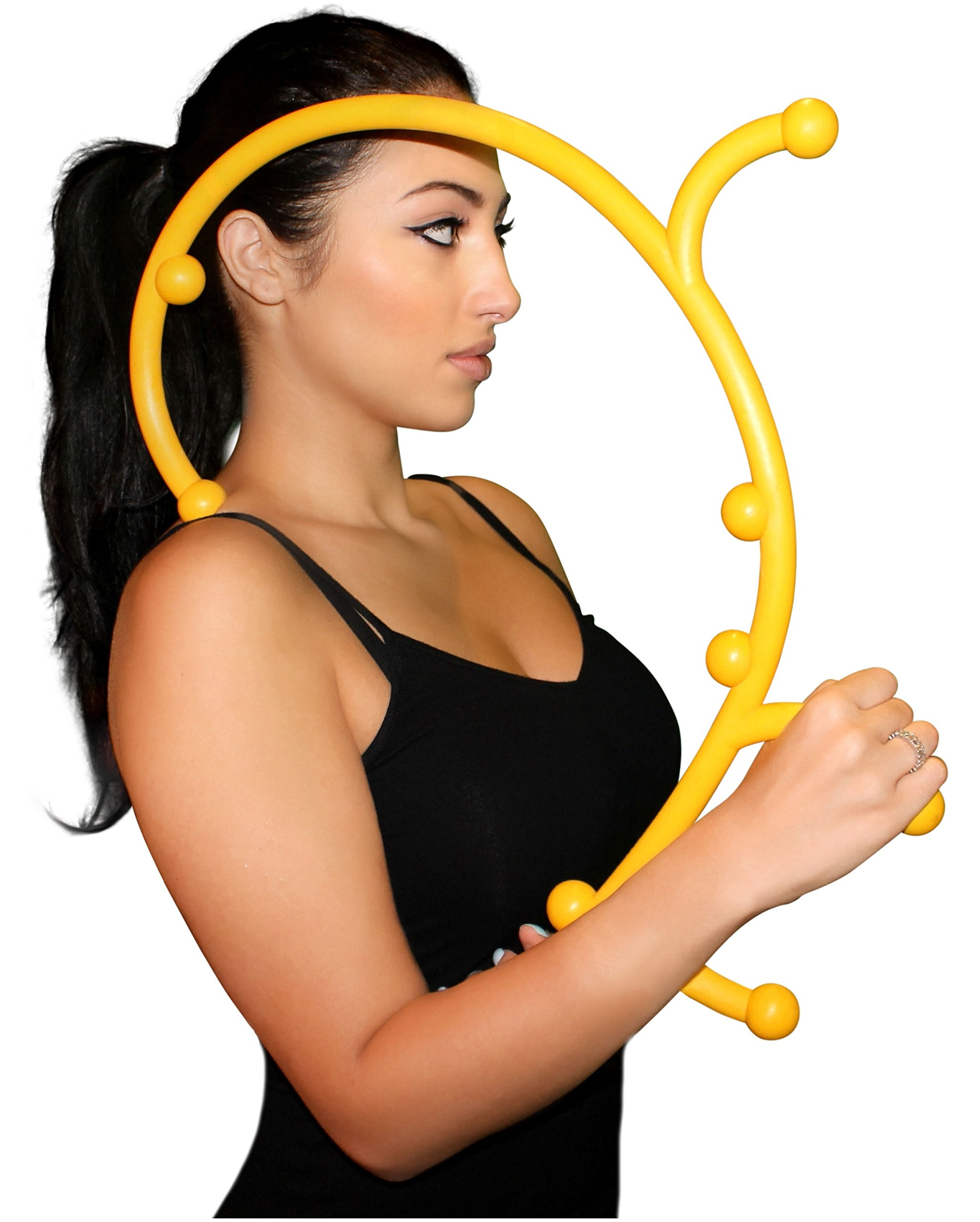 Nayoya Back Hook Massager - Patented Self Massager by Nayoya Wellness
