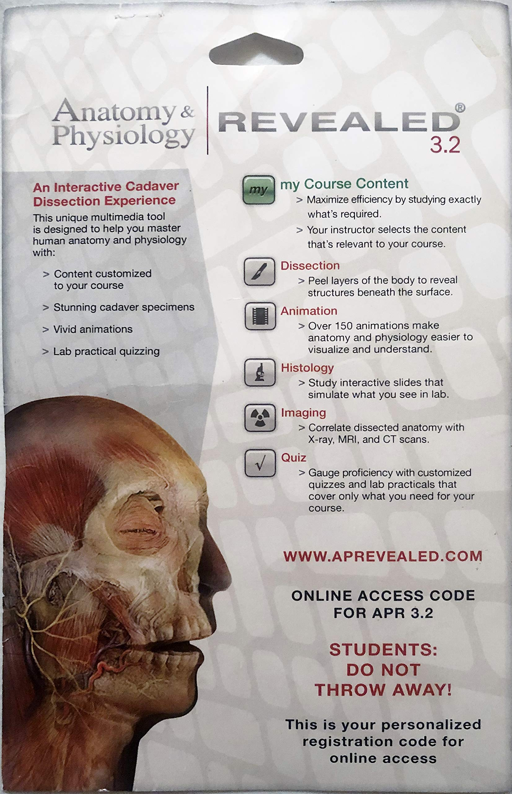 anatomy and physiology revealed 3.0 free registration code