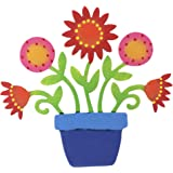 Embellish Your Story Flower In Cachepot Magnet - Embellish Your Story Roeda 13675-EMB