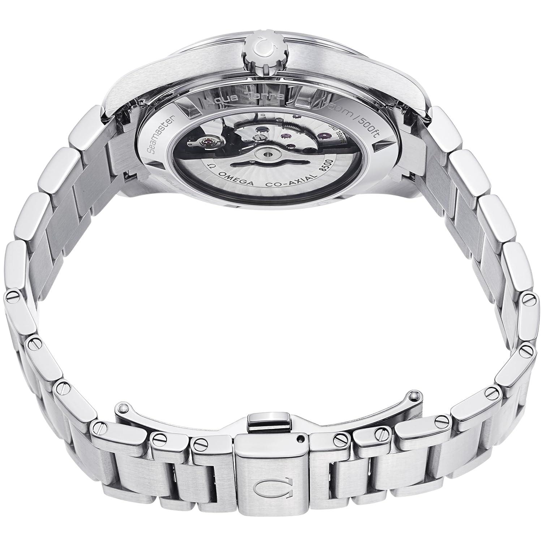 Omega Men s 231.10.42.21.06.001 Seamaster Aqua Terra Chronometer Black Dial Watch