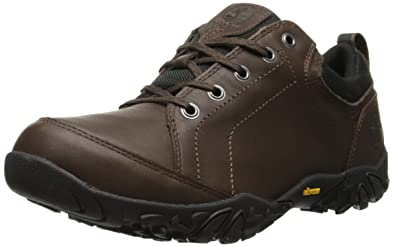 Timberland Mens EK Gorham Low Waterproof Oxford Dark Brown
