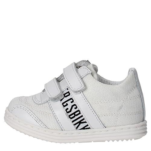 BIKKEMBERGS - Zapatillas para niño Blanco blanco: Amazon.es: Zapatos y complementos