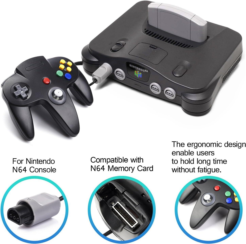 Controlador N64, iNNEXT Classic con Cable N64 de 64 bits para ...