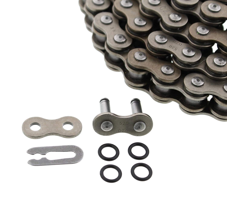 CZ DZO O-Ring Chain /& Silver Sprocket 13//40 104L 01-05 Yamaha YFM660 660 Raptor