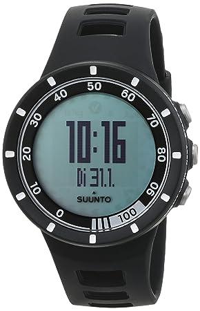 Suunto Quest Black Running Pack - Reloj deportivo (Dot-matrix, 42.7 x 13.2 x 42.7 mm, 40g, Negro, CR2032, 8760h): Amazon.es: Deportes y aire libre