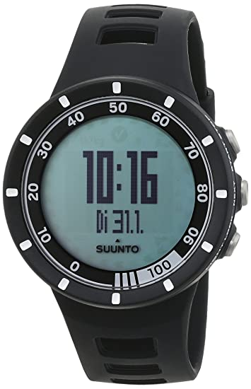Suunto Quest Black Running Pack - Reloj deportivo (Dot-matrix, 42.7 x 13.2 x 42.7 mm, 40g, Negro, CR2032, 8760h): Amazon.es: Deportes y aire libre