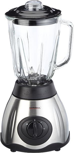 Gastroback 40998 Batidora de vaso, jarra de cristal 1,5 l, 2 ...