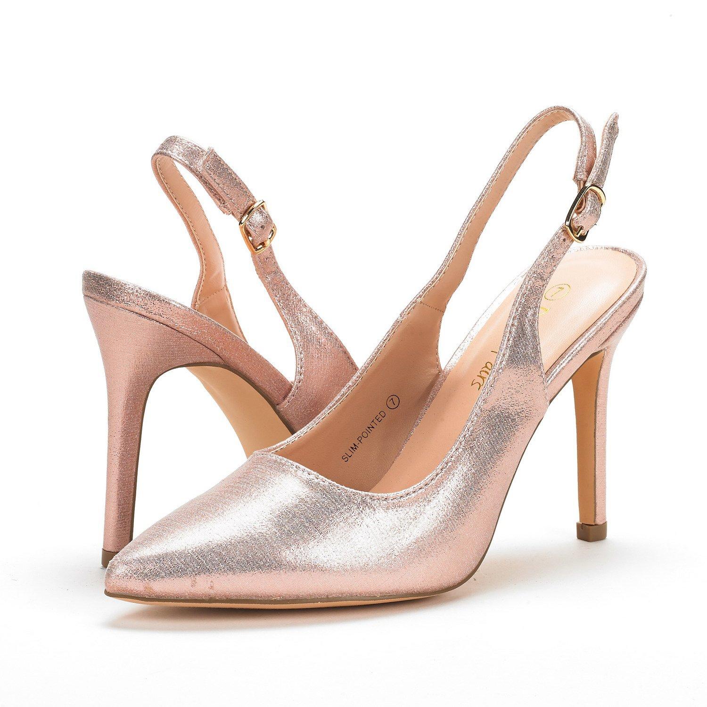 f068b29bb1 Amazon.com | DREAM PAIRS Women's Slingback Pointed Toe Stiletto High Heels  Dress Pumps | Pumps