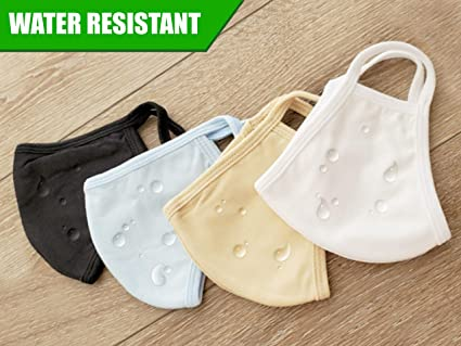 Premium Reusable Face Mask – Ultra Soft, Portable, Lightweight. 3 Layers Protection with Japan Technology. Breathe Comfortable Anti-Microbial + Water Resistant