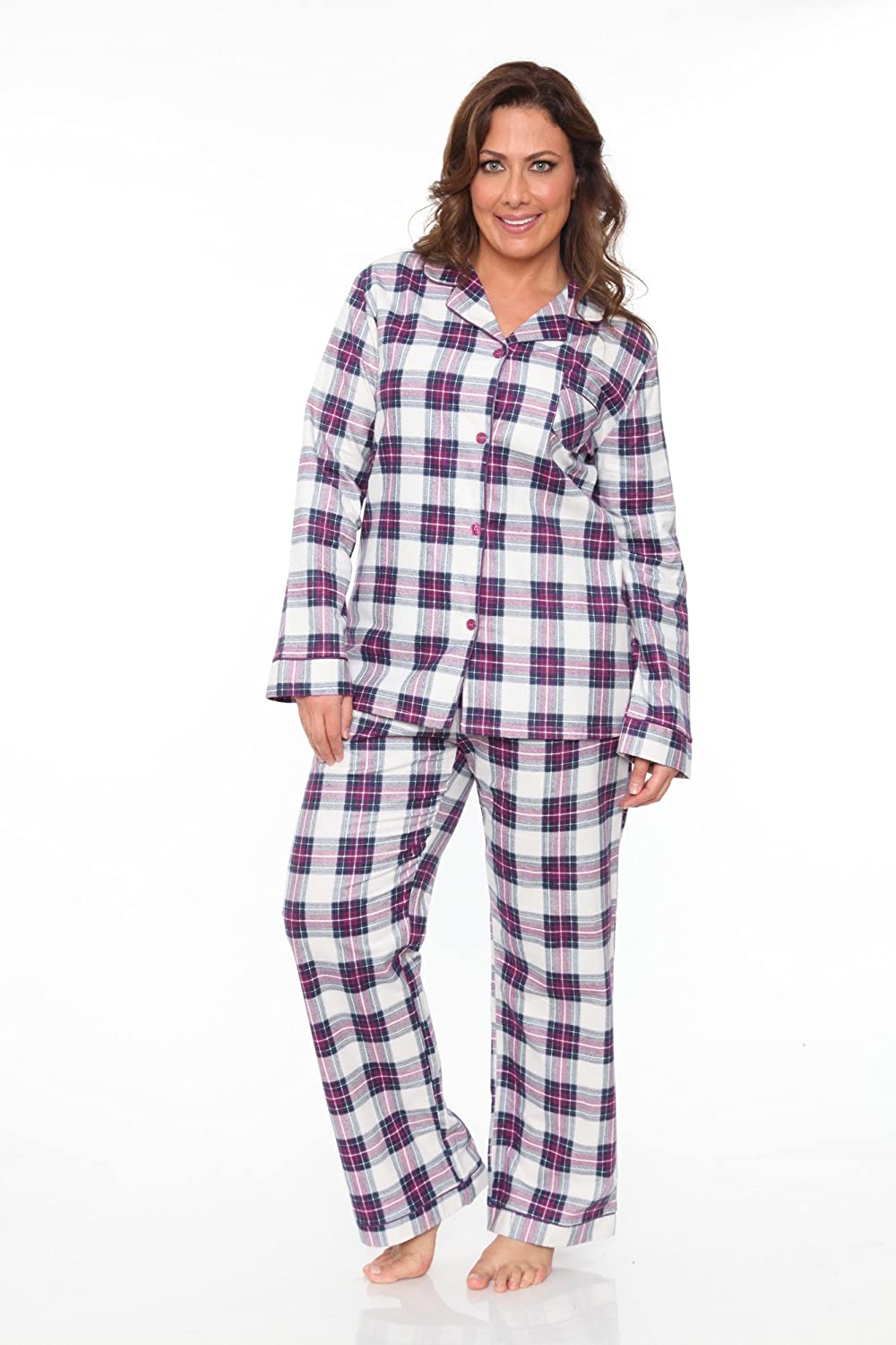WM Plus Flannel Pajama Set