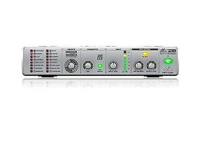 Amazon.com: BEHRINGER MINIFEX FEX800, procesador de mú ...